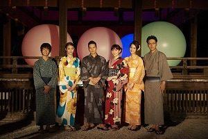 京都でのイベントにゲスト出演☆山下さんの浴衣&メガネがステキ過ぎ~♪